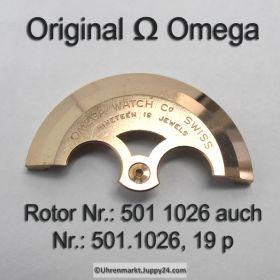Omega Rotor  Omega 501-1026 19 jewels Cal. 501 503