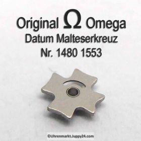 Omega 1480-1553 Datum Malteserkreuz, Omega 1480 1553 Cal. 1480 1481