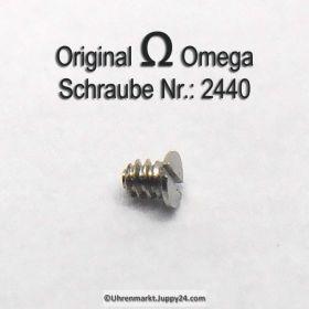 Omega 2430 Schraube für Halteplatte für Datumsanzeiger
