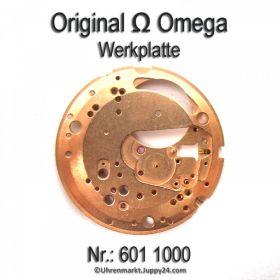 Omega Werkplatte Werkplatine Par Nr. Omega 601-1000 Cal. 601 602