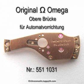 Omega obere Brücke für Automatvorrichtung Omega 551-1031 Cal.  551 552 (560) 561 562 (563) 564 565 (750) 751 752 (550)