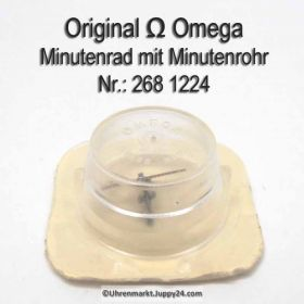 Omega Minutenrad mit Minutenrohr, NOS 5,30mm Part Nr. Omega 268-1224 Cal.  268 269