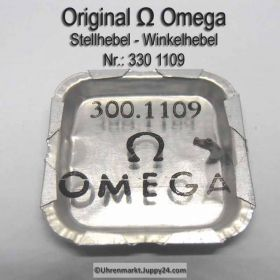 Omega Stellhebel - Omega Winkelhebel Part Nr. Omega 300-1109 Cal. R 17.8, 300, 301, 302, 310, 311