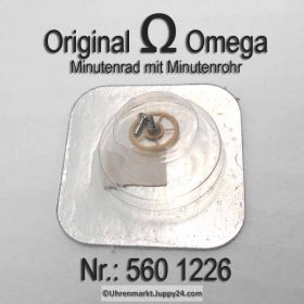 Omega Minutenrad mit Minutenrohr Höhe 4,36 mm Part Nr. Omega 560-1226 Cal. 560