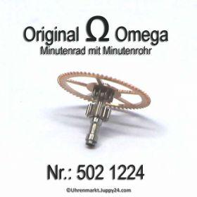 Omega Minutenrad 502-1224 ohne Minutenrohr Omega 502 1224 Cal. 502 503 504