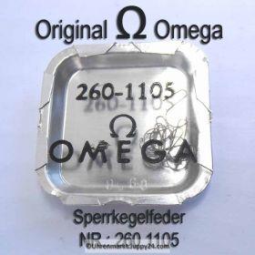 Omega Sperrkegelfeder Omega 260-1105 Cal. 30 30T1 30T2 30T2PC 30T2RG 260 261 262 265 266 267 268 269 283 280 281 284 285 286