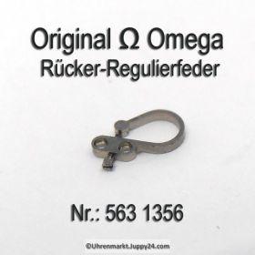 Omega Rücker- Regulierfeder Schwanenhals Part Nr. Omega 563-1356 Cal. 550 551 552 560 561 562 563 564 565 600 610