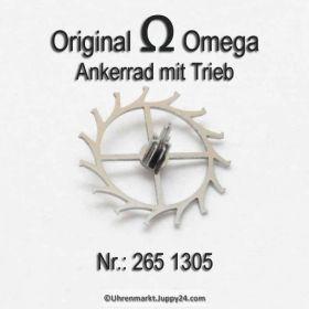 Omega 265-1305 Omega Ankerrad mit Trieb Omega 265 1305 Cal. 265 266 267 268 269 283 284 285 286