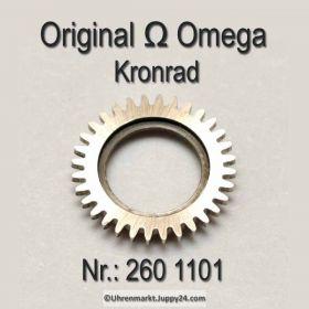 Omega Kronrad Part Nr. Omega 260-1101 Cal. 30 30T1 30T2 30T2PC 260 265 266 267 269 283 284 285 286
