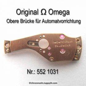 Omega Obere Brücke für Automatvorrichtung Part Nr. Omega 552 1031 Cal.  551 552 (560) 561 562 (563) 564 565 (750) 751 752 (550)