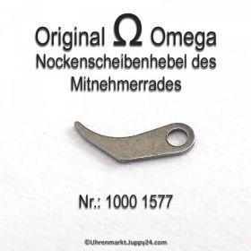Omega 1000-1577 Nockenscheibenhebel des Mitnehmerrades Omega 1000 1577 Cal. 1000 1001 1002