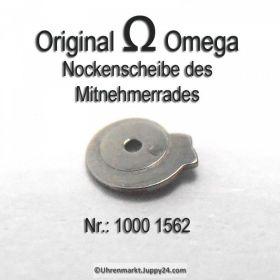 Omega 1000-1562 Omega Nockenscheibe des Mitnehmerrades Omega 1000 1562 Cal. 1000 1001 1002