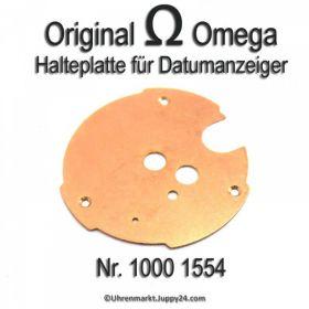 Omega 1000-1554 Halteplatte für Datumanzeiger, Omega 1000 1554 Cal. 1000 1001 1002