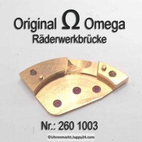 Omega 260 1003 Omega Räderwerkbrücke Cal. 260 265