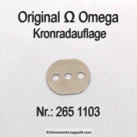 Omega 265-1103 Omega Kronradauflage Cal. 265 266 267 268 269 283 284 285 286