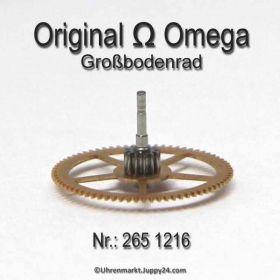 Omega Grossbodenrad Omega 2650-1216 Cal. 265 266 267
