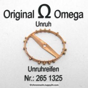 Omega 265-1325 Omega Unruh, Omega Unruhreifen 265 1325, Cal 265 266 267 284