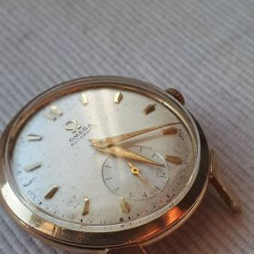 Omega RARE US. OMEGA CALATRAVA style G-6239.BY 1951 (STAR WATCH CASE.CO