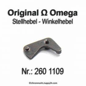 Omega Stellhebel Omega 260 1109 Omega Winkelhebel Cal. 30 30T1 30T2 30T2PC 260 261 262 265 266 269 283 284 285