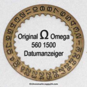 Omega 560-1500, Datumanzeiger gewölbt, Omega 560 1500  Cal. 560 561 562 563 564 565 610 611 613 (01)