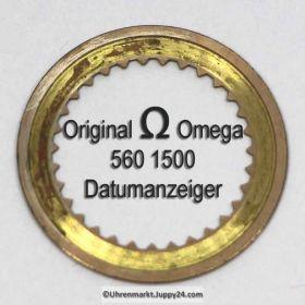 Omega Datumanzeiger gewölbt Omega 560-1500  Cal. 560 561 562 563 564 565 610 611 613 (01)