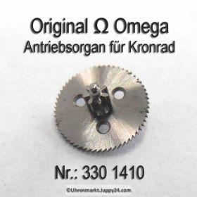 Omega 330-1410, Omega Antriebsorgan für Kronrad, Omega 330 1410