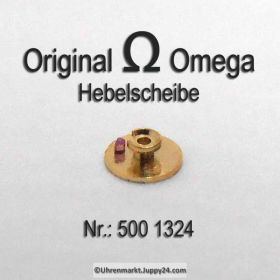 Omega Hebelscheibe Omega 500-1324 mit Hebelstein Cal 490 491 500 501 502 503 504 505 560 561 562 563 564 565
