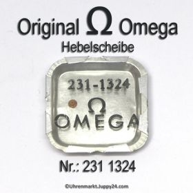 Omega Hebelscheibe mit Hebelstein Omega 231-1324 Cal 231