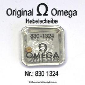 Omega Hebelscheibe Omega 830-1324 mit Hebelstein Cal 830