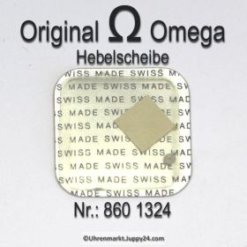 Omega Hebelscheibe Omega 860-1324 mit Hebelstein Cal 860 861 910 930