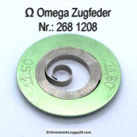 Omega Zugfeder 268-1208 Omega Aufzugsfeder 268 1208 Cal. 268, 269, 285, 286, 30 T6, 30 SC T6, 30 T5, 30 SC T5,