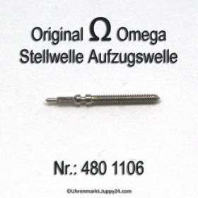 Omega 480-1106 Aufzugswelle Stellwelle, Omega 480 1106 Cal. 480 481 482 483 484 12.50PO