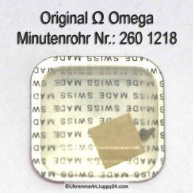 Omega 260-1218 Minutenrohr Omega Viertelrohr 268 1218 Höhe 2,55 mm Cal. 260 268 269
