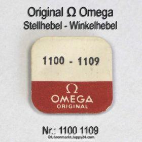 Omega Stellhebel Omega 1100-1109 Omega Winkelhebel 1100 1109 Cal. 1100