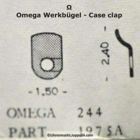 Omega 244-1975A Werkbügel , Werkbefestigungsbügel Omega 244 1975a