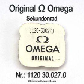 Omega 1120-30.027.0 Sekundenrad, Omega 1120 30.027.0 Cal. 1120A