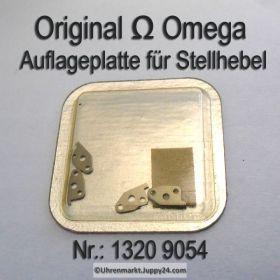 Omega 1320-9054 Auflageplatte für Stellhebel , Omega Auflageplatte für Stellhebel  1320 9054 Cal. 1320 1325