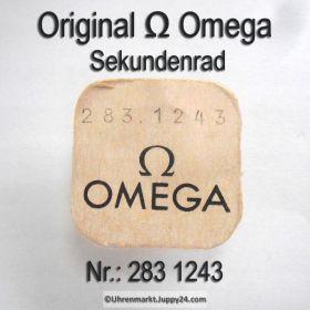 Omega Sekundenrad 283-1243 Omega 283 1243 Cal. 283 (30 SC T3 PC AM)
