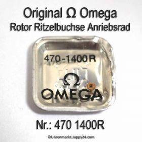 Omega 470-1400R Rotor Ritzelbuchse Antriebsrad Cal. 470 471 490 491 500 501 502 503 504 505