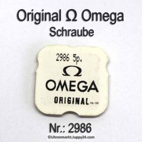 Omega Schraube 2986 Part Nr. Omega 2986 ✓ noch lieferbar!