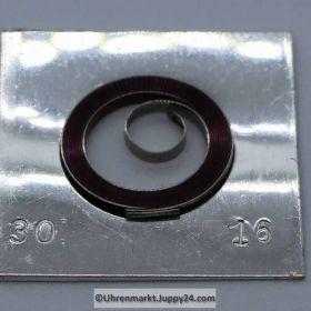 Flume Zugfedern für Taschenuhren alle Größen, Taschenuhren - Aufzugsfedern von Flume