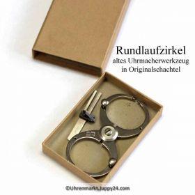 Rundlaufzirkel, Swiss Made - Uhrmacherwerkzeug.