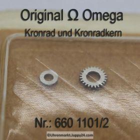Omega Kronrad und Kronradkern 660 1101/2 Omega 660-1101/2 Cal. 660 661 662 663