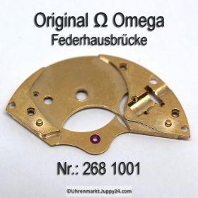 Omega Federhausbrücke 268 1001 Part Nr. Omega 268-1001 Cal. 268