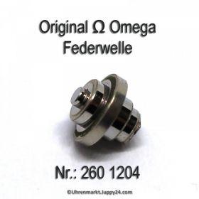 Omega Federwelle 260 1204 Omega 260-1204 Cal. 30, 30T1, 30T2, 30T2PC, 30T2RG, 260, 261, 262, 265, 266, 267, 283, 284