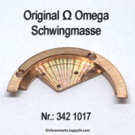 Omega 342 1017 Schwingmasse Omega 342-1017 für Hammerautomatik Cal. 342 344