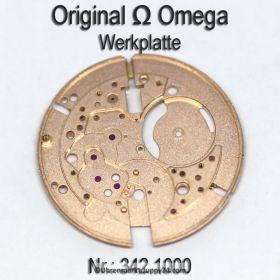 Omega 342 1000 Werkplatte für Hammerautomatik, für Cal. 342 343 344