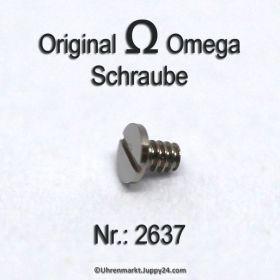 Omega Schraube 2637 Part Nr. Omega 2637