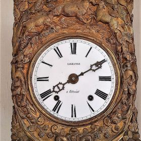 Comptoise Uhr  (Frankreich um 1860)