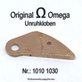 Omega Unruhkloben Omega 1010-1030 für Cal. 1010 1011 1012 1020 1021 1022 1030 1035